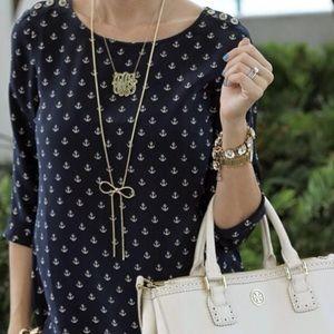 Cynthia Rowley Anchor Shirt